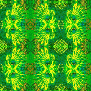 Abstract58-green/yellow