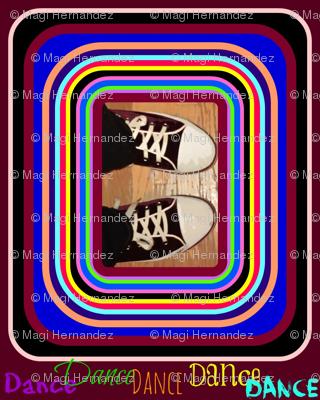 Dance! In Maroon Suede Shoes