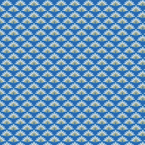 Rimini Peacock - Blue fabric by siya on Spoonflower - custom fabric