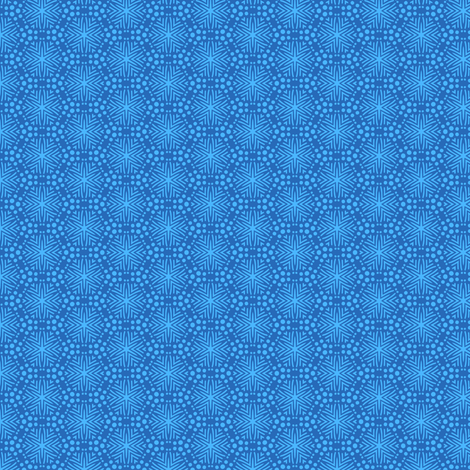 Rimini Stars - Blue fabric by siya on Spoonflower - custom fabric