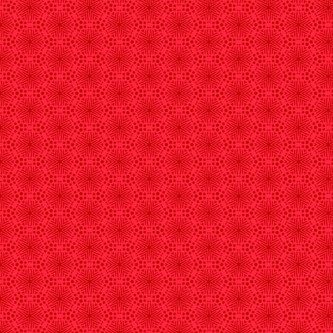 Rimini Stars - Red fabric by siya on Spoonflower - custom fabric