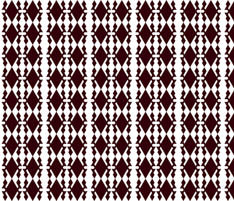Black and White Geometric fabric by robin_rice on Spoonflower - custom fabric