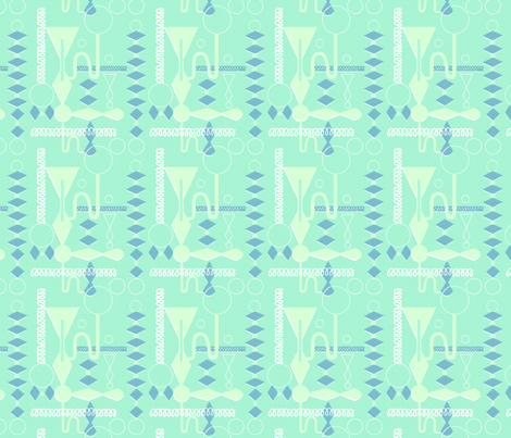 Mad Scientist fabric by vinpauld on Spoonflower - custom fabric
