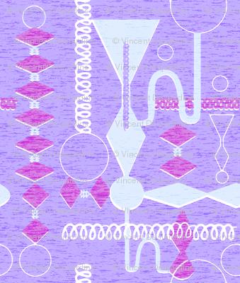 Mad Scientist Purple Textured