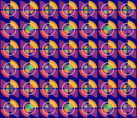 Record Store fabric by elramsay on Spoonflower - custom fabric