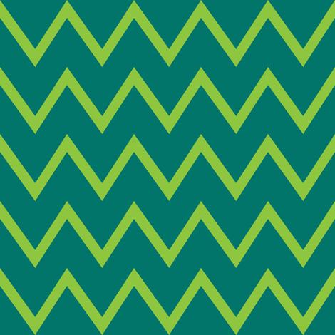 green neon chevrons fabric by vo_aka_virginiao on Spoonflower - custom fabric