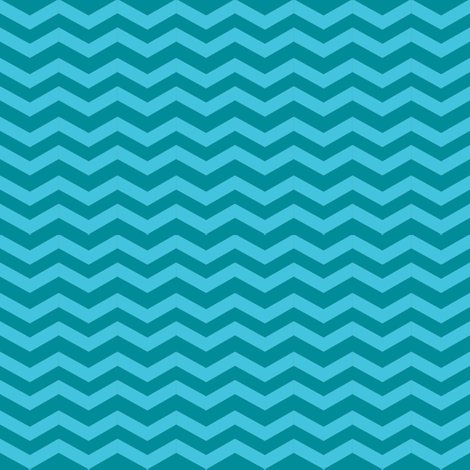 gray_teal_chevron-01-ch fabric by vo_aka_virginiao on Spoonflower - custom fabric