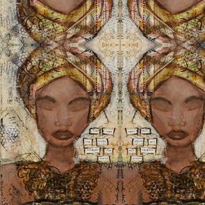 Turban Girl Canvas