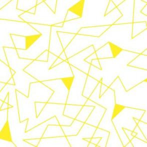 karneval white & yellow