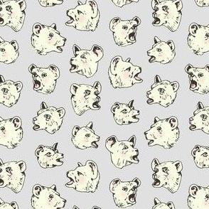 Burping Bears | Grey