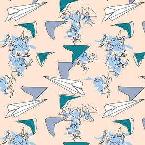 Paper Airplanes Cream