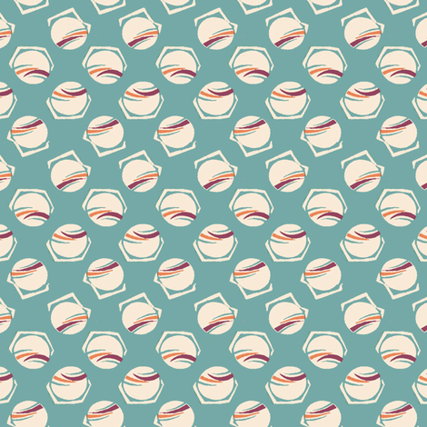 aqua_sputnik fabric by flapperfancies on Spoonflower - custom fabric