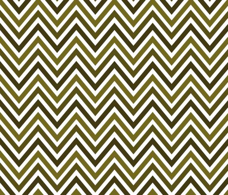 Vert Chevrons fabric by vo_aka_virginiao on Spoonflower - custom fabric
