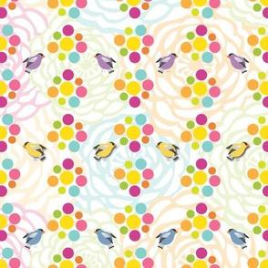 FlowersDots&Birds