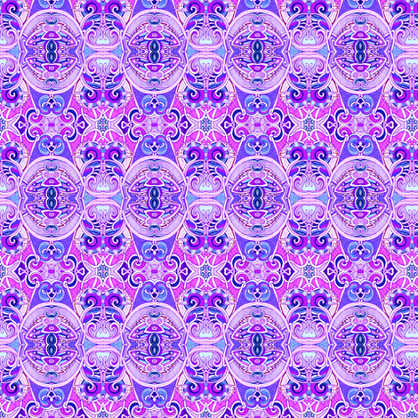 For the Love of Lavender fabric by edsel2084 on Spoonflower - custom fabric