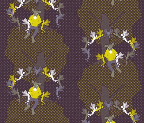 Bottom's Enchantment fabric by glimmericks on Spoonflower - custom fabric