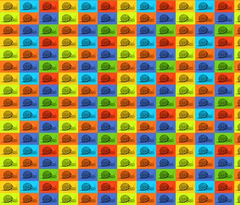 Garden Snails fabric by zedralz on Spoonflower - custom fabric
