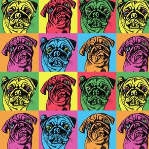 Retro Pug