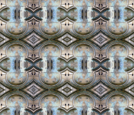 Old Church in Cluny, France fabric by susaninparis on Spoonflower - custom fabric