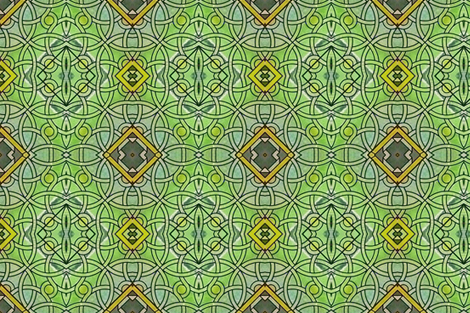 Fontenay Stained Glass1 fabric by susaninparis on Spoonflower - custom fabric