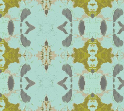 Mermaid's Wallpaper, larger fabric by susaninparis on Spoonflower - custom fabric