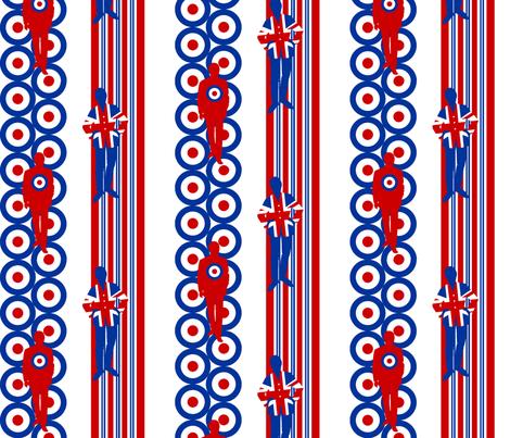 Cool! fabric by moirarae on Spoonflower - custom fabric