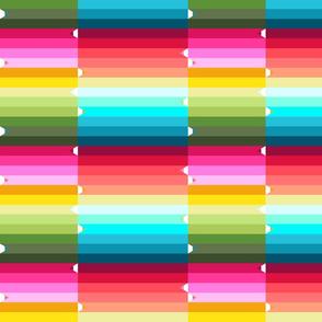pencils rainbow