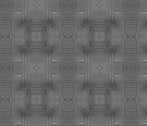 Grey Fractal Weave Large © Gingezel™ 2013 fabric by gingezel on Spoonflower - custom fabric