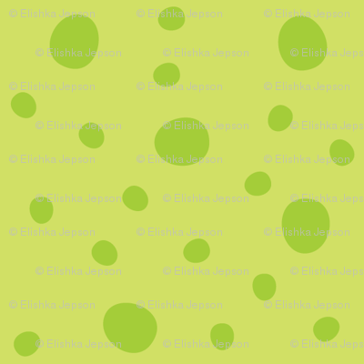 Morgan's Star Dot (Green)