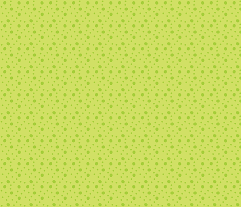 Morgan's Star Dot (Green) fabric by robyriker on Spoonflower - custom fabric