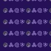Teen Wolf Purple on Purple
