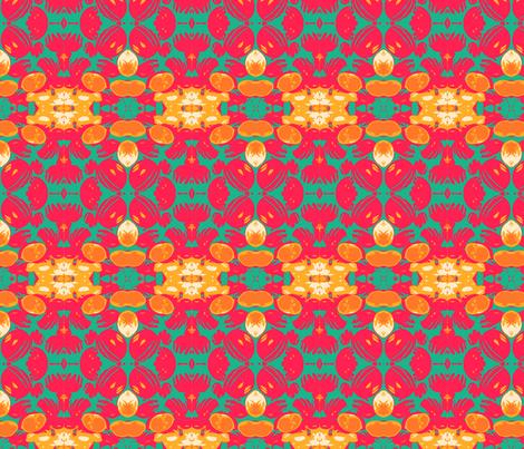 Melon Medley fabric by relative_of_otis on Spoonflower - custom fabric
