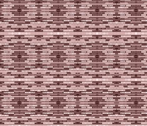 Twelve Step Verbs Ten fabric by pd_frasure on Spoonflower - custom fabric