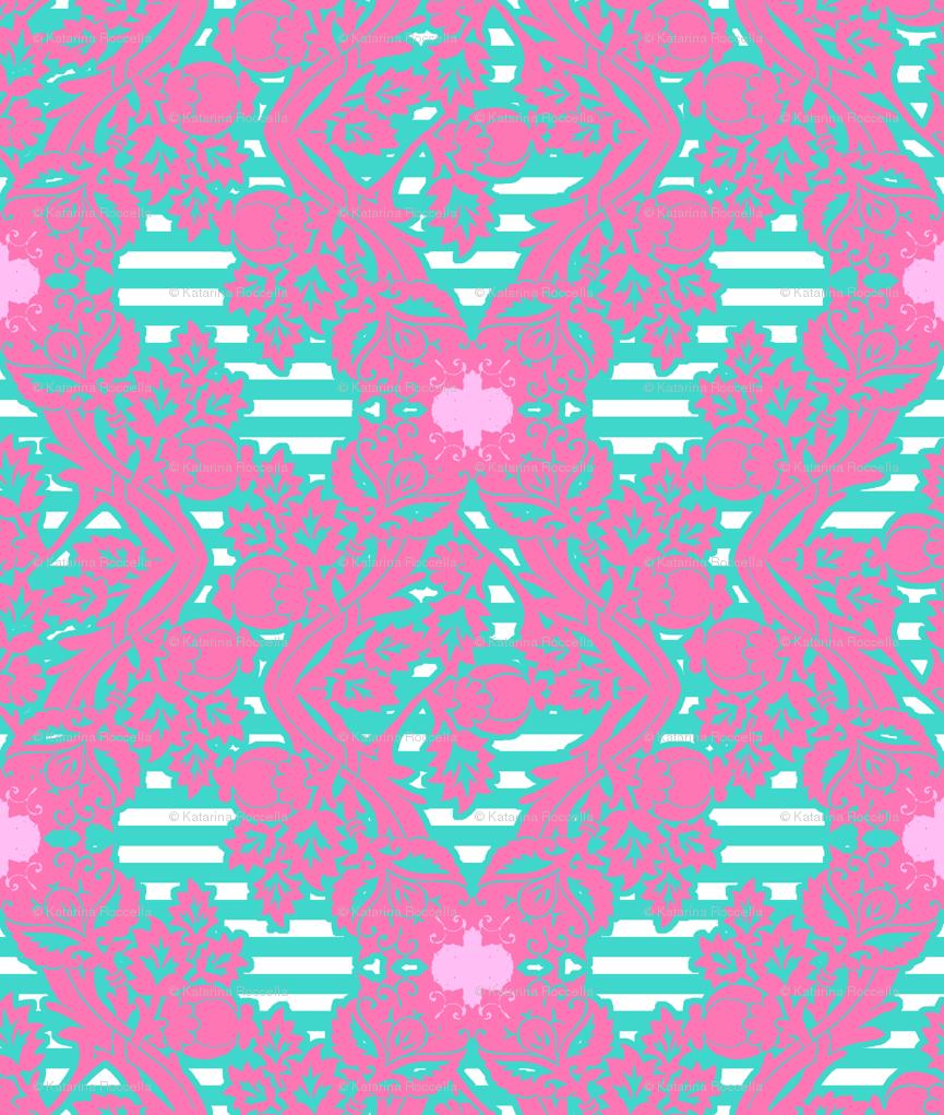 Popular Wallpaper Marble Hot Pink - floral_damask14_highres  Image_42398.png