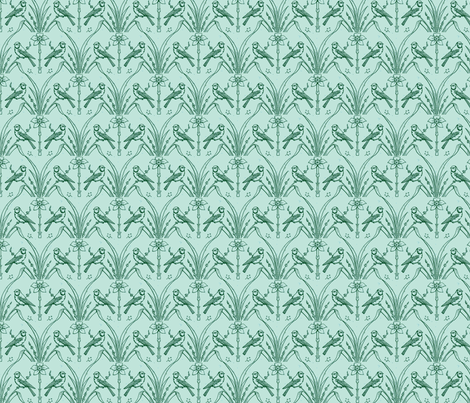 Testy Birds fabric by amyvail on Spoonflower - custom fabric