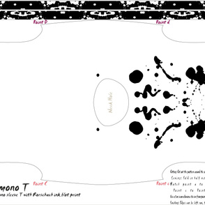 Rorschach Kimono T (1 Yard)
