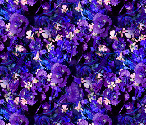 Where The Blue Grass Grows fabric by peacoquettedesigns on Spoonflower - custom fabric