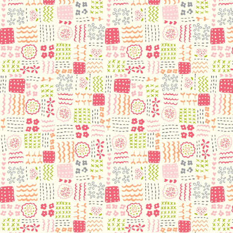 patchwork_play fabric by stacyiesthsu on Spoonflower - custom fabric