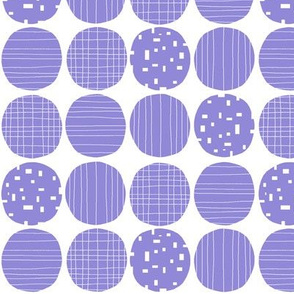 Jacaranda circles (white background)