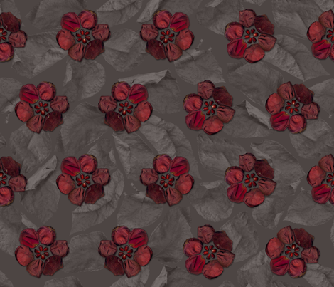 Persephone_Queen_of_Hades fabric by aalk on Spoonflower - custom fabric