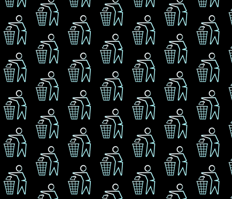 Toss It (1) fabric by relative_of_otis on Spoonflower - custom fabric