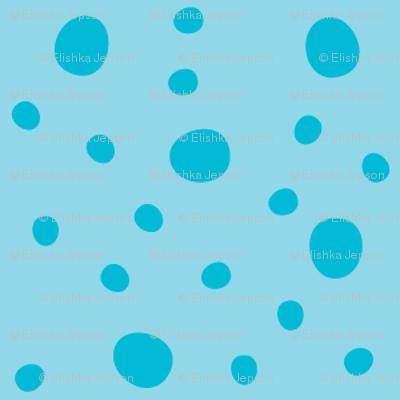Morgan's Star Dot (Blue)