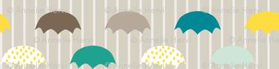 Cloudy Day Umbrellas