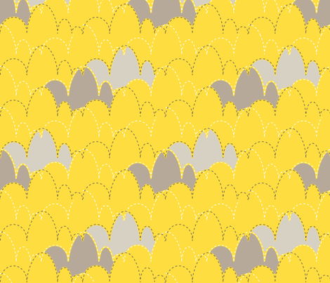 mod clouds fabric by mrshervi on Spoonflower - custom fabric