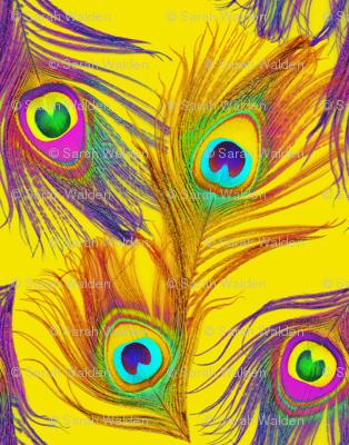 Sheena Is A Peacock Rocker~ Yellow