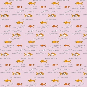 Goldfishswimpink