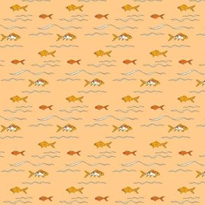 Goldfishswimtangerine