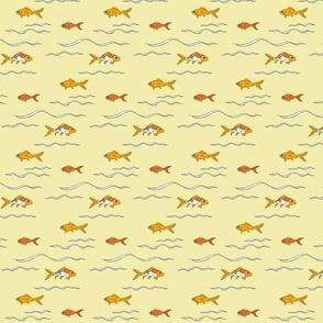 Goldfishswimyellow