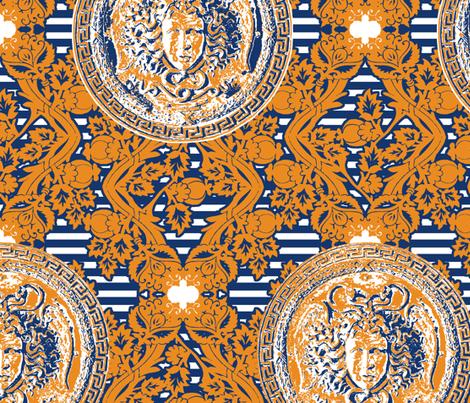 Medusa  fabric by katarina on Spoonflower - custom fabric