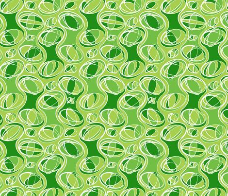 Retro-Geo Green2 fabric by jmckinniss on Spoonflower - custom fabric